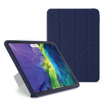 iPad Pro 12.9 2020 TPU Origami Case Dark Blue - Hero