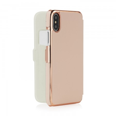 phone-X-silm-wallet-pink-back-open