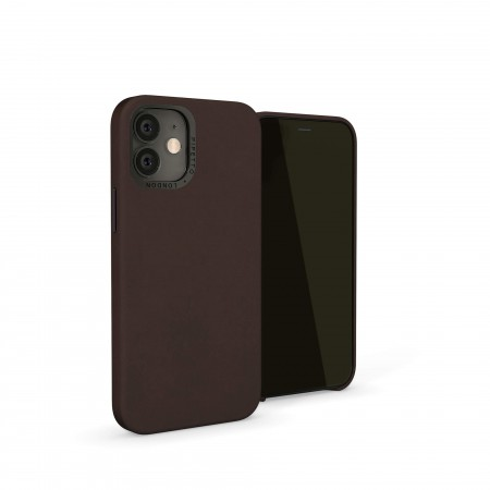iPhone 12 (5.4)-Magnetic-Leather-brown-overview
