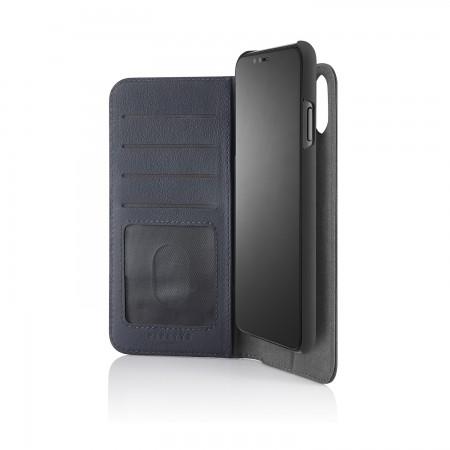 iPhone xs max folio navy - hero