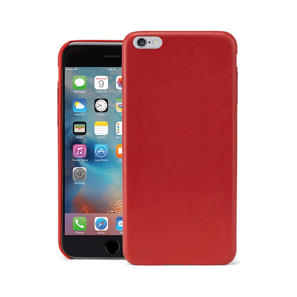 release date: e160d 7846b iPhone 6 Plus / iPhone 6S Plus Case Snap Red Lambskin Luxe