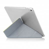 iPad 9.7 (2017) Case Origami Luxe - Pistachio & Clear