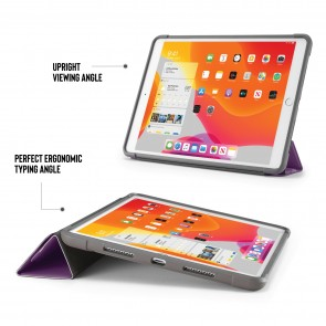 iPad 10.2 (7th & 8th Generation) Origami Shield Case - Purple