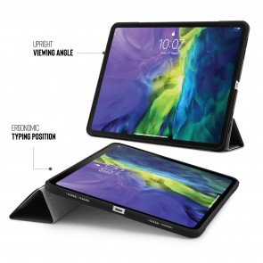 iPad Pro 11 Case Origami (1st and 2nd Gen) - Black