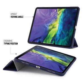 iPad Pro 11 Origami Case (1st and 2nd Gen) - Dark Blue
