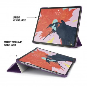 iPad Pro 12.9 Case Origami (3rd Gen) - Purple