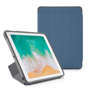 Pipetto iPad 9.7 inch Origami Case Navy - Front
