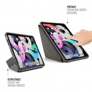 iPad Air 10.9 (iPad Air 4) Origami Shield Case - Red