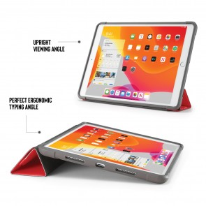 iPad 10.2 (7th & 8th Generation) Origami Shield Case - Red