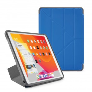 Pipetto iPad 7th Generation Royal Blue Origami Shield Case - Hero