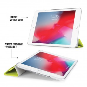 iPad mini 5 / iPad mini 4 Luxe Origami Case - Pistachio & Clear