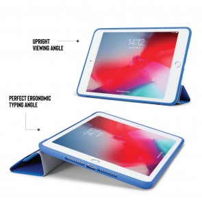 iPad mini 5 / iPad mini 4 Origami TPU Case - Royal Blue & Clear