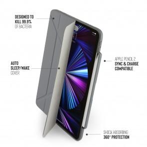 iPad Pro 11 (1st, 2nd & 3rd) Origami No3 Pencil Case - Dark Grey