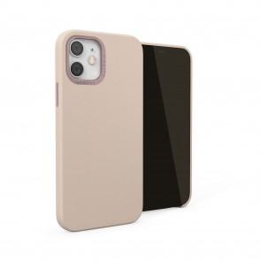 iPhone 12 / iPhone 12 Pro (6.1-inch) 2020 - Magnetic Leather iPhone Case - Dusty Pink