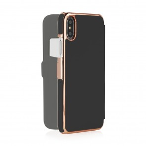 iPhone X/XS Slim Wallet - Black & Rose Gold (Online Exclusive)