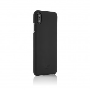 iPhone xs max shell dark grey - back angle