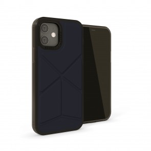 iPhone 12 / iPhone 12 Pro (6.1-inch) 2020 - Origami Snap Case - Dark Blue