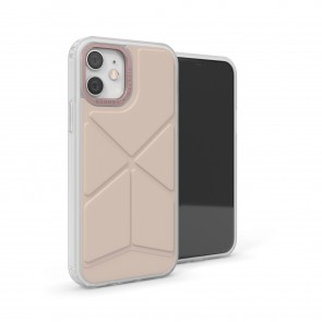 iPhone 12 Mini (5.4-inch) 2020 - Origami Snap Case - Dusty Pink