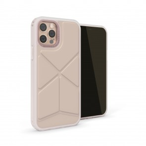 iPhone 12 Pro Max (6.7-inch) 2020 - Origami Snap Case - Dusty Pink