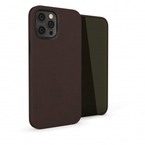 iPhone 12 (6.7)-Magnetic-Leather-brown-overview