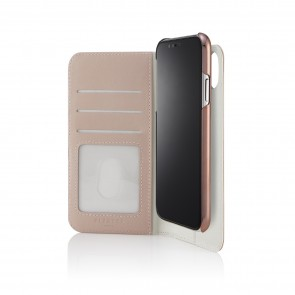 iPhone x medium wallet black - front