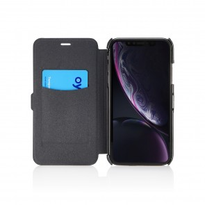 iPhone XR Slim Wallet - Jet Black