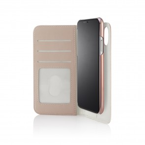 iPhone xs folio dusty pink - hero