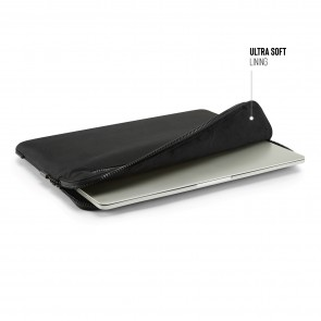 16 Inch Organiser MacBook Sleeve - Black (15