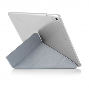 iPad 9.7 (2017 / 2018) Case Origami Silver & Clear (Air 1 Compatible)