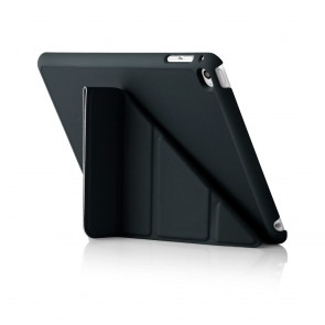 iPad Mini 4 Origami Case Black - Back Exterior