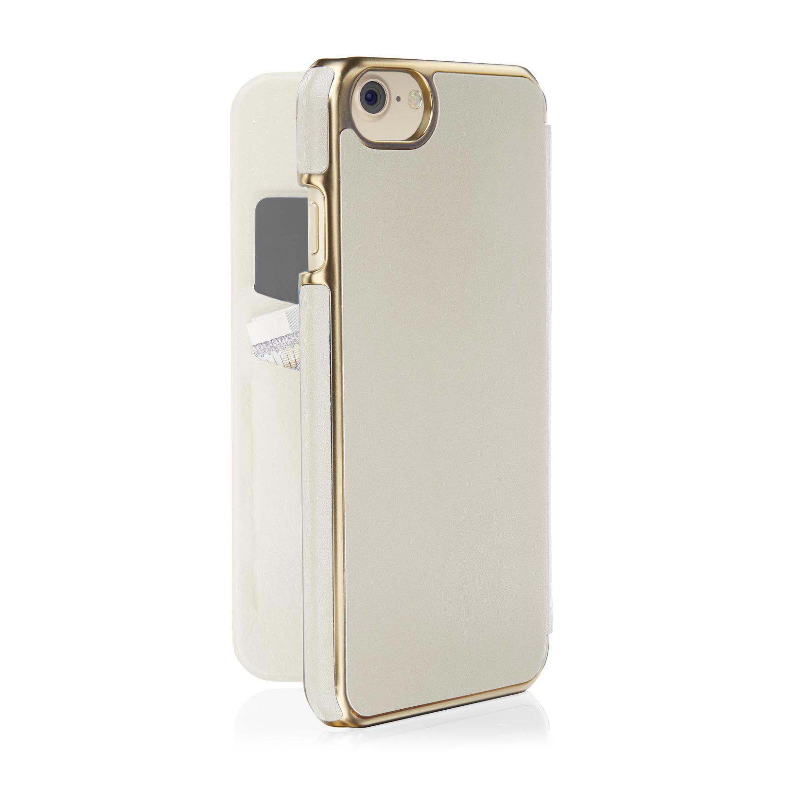 new products e6dd8 b4abd iPhone 8 Slim Wallet Case - Ecru (Also Fits iPhone 6/6S/7)