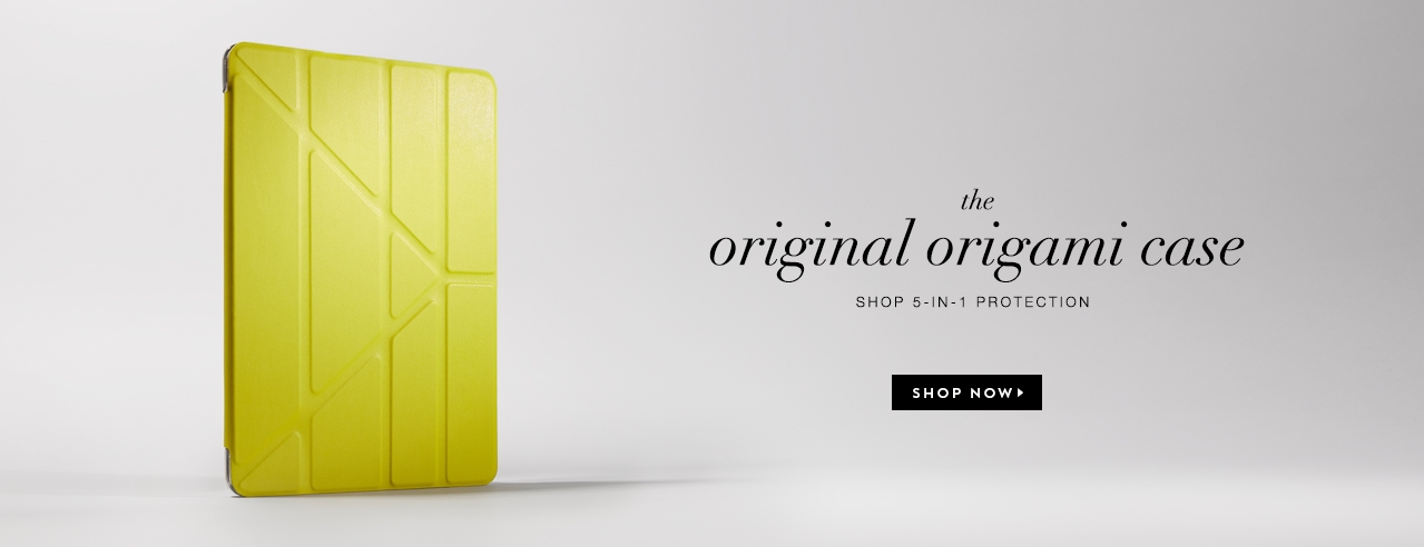 Pipetto Origami iPad case