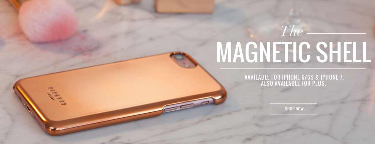 iPhone 7 Magnetic Shell cases - rose gold