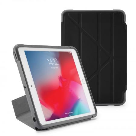 Pipetto iPad mini 5 / iPad mini 4 Origami Shield Case Black - Front