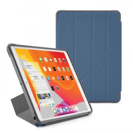Pipetto iPad 7th Generation Navy Origami Shield Case - Hero