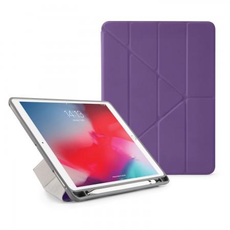 Pipetto iPad Air 10.5 / Pro 10.5 Origami Pencil Case Purple - Front