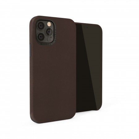 iPhone 12 Pro Max (6.7-inch) 2020 - Magnetic Leather iPhone Case - Brown