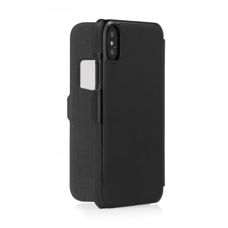 iphone-X-silm-wallet-jet-black-back-open