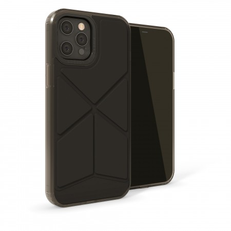 iPhone 12 Pro (6.7)-Origami Snap-black-overview