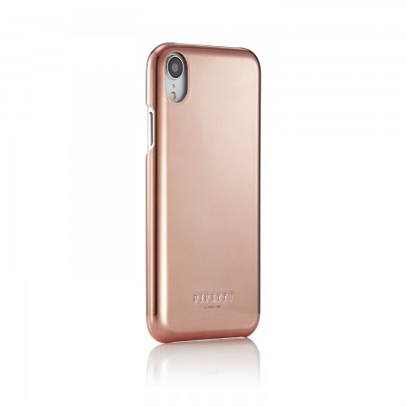 iPhone xr shell rose gold - back angle