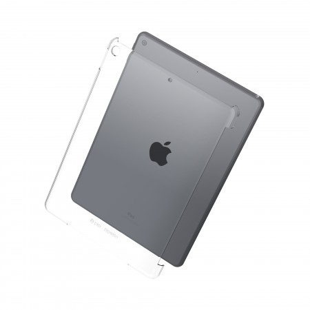 Pipetto iPad 10.2 Inch Clear Back Case - Rear Image
