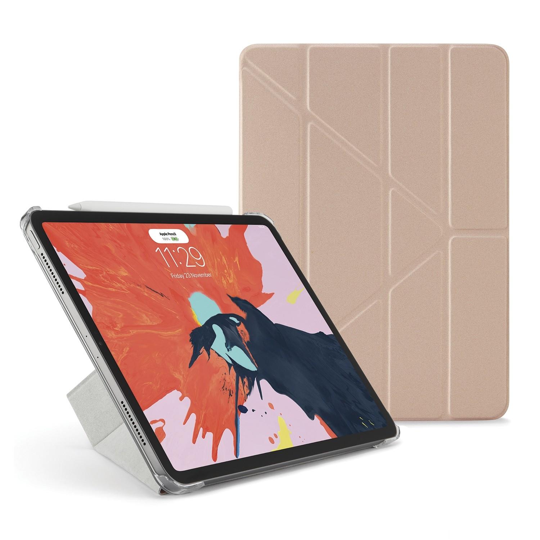 pretty nice 469f0 bd82a iPad Pro 11 Case Origami - Rose Gold & Clear
