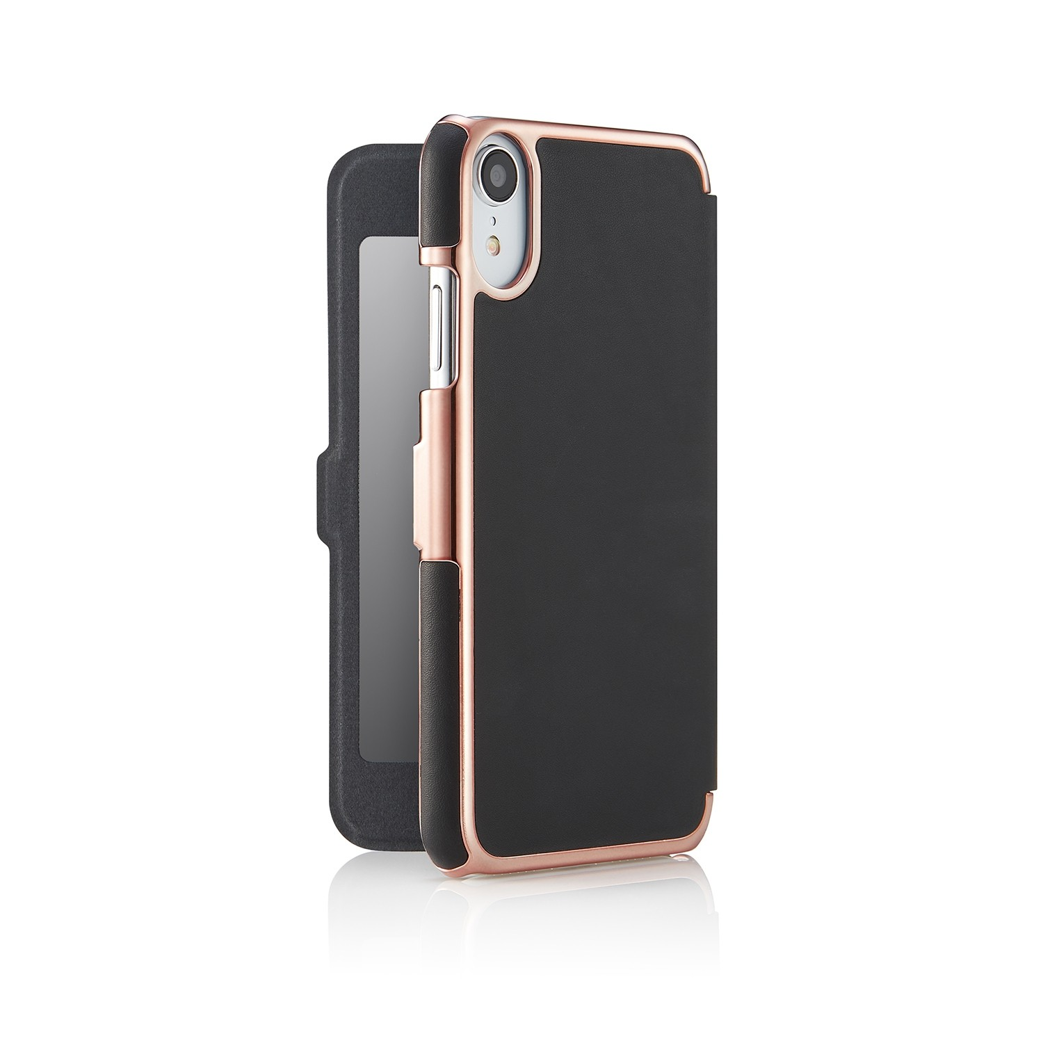 black leather wallet iphone 7 case rvsse
