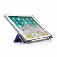 iPad 9.7 Origami Pencil Case 5-in-1 Ruggedised Case - Royal Blue
