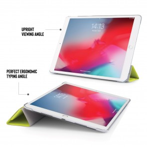 iPad Air 10.5 / Pro 10.5 Luxe Origami - Pistachio & Clear