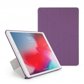 Pipetto iPad Air 10.5 / Pro 10.5 Origami Case Purple - Front