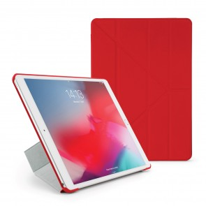 Pipetto iPad Air 10.5 / Pro 10.5 Origami Case Red - Front