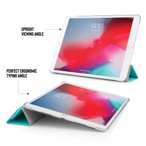 iPad Air 10.5 / Pro 10.5 Luxe Origami - Turquoise Clear