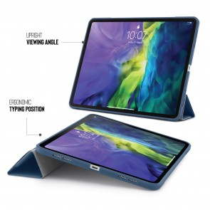 iPad Pro 11 Origami Case (1st and 2nd Gen) - Navy