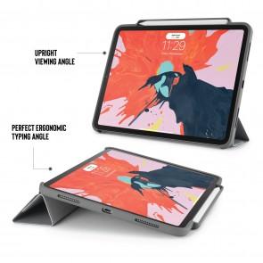 iPad Pro 11 Origami Pencil Case 5-in-1 Ruggedised Case - Grey